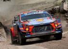 Noivils kļūst par Meksikas WRC rallija līderi