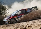 Ožjē pārņem vadību Meksikas WRC, ''Hyundai'' pilotiem neveiksme