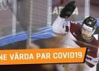 """Daugaviņš: """"Rīgas PČ nevaru solīt medaļas, bet fani dzīs mūs uz priekšu"""""""
