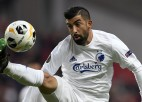"""""""Copenhagen"""" uzbrucējam Santosam UEFA diskvalifikācija par policista pagrūšanu"""