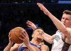 """""""Knicks"""" jaunais prezidents nevar izšķirties, vai Noksam Ņujorkas komandā ir nākotne"""