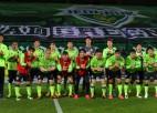 Dienvidkorejā sezona sākas ar fanu trokšņa ierakstu spēlēšanu tukšā stadionā