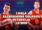 Video: Intervija: Ģenerālis un Aleksandrs Volkovs | 1. daļa