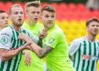 Lietuvā futbola sezona atsākas ar pārsteigumu