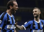 """""""Inter"""" 13 minūtēs apgriež spēli kājām gaisā, atgūstot vicelīderes pozīciju"""