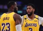 """Porters atkal uguņo, """"Lakers"""" vāja metienu realizācija un zaudējums """"Thunder"""""""