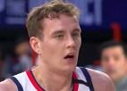 Video: Pasečņikam 10+6 pret NBA līdervienību