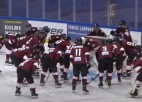 """Video: Rīgas """"Dinamo"""" Somijā zaudē arī otrajā pārbaudes spēlē"""