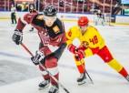 """Video: Rīgas """"Dinamo"""" vieni vārti pret """"Jokerit"""" un zaudējums"""