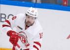Video: Daugaviņam pirmoreiz četri punkti KHL mačā