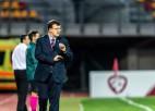 Statistika: galveno treneru debijas mači pie Latvijas izlases stūres