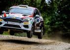 Sesks otrais starp junioriem pēc Igaunijas WRC otrās dienas, Tenaks drošs līderis