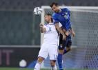 Itālijas izlases treneris Mančīni sliktas redzes dēļ kļūdījās ar pamatsastāva izvēli