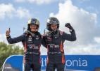 """Tanaks: """"Igaunijas WRC posmā man noteikti bija jāuzvar"""""""