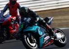 "Morbidelli izcīna pirmo ""MotoGP"" uzvaru, Rosi zaudē pjedestālu"