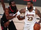 """Lebrons ar 29+11+7 aizved """"Lakers"""" līdz Rietumu konferences finālam"""