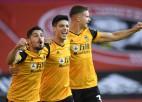 """Vulverhemptonas """"Wanderers"""" pirmajās sešās minūtēs gūst divus vārtus un sezonu sāk ar uzvaru"""