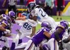 "Covid-19 NFL: ""Titans"" un ""Vikings"" slēdz savas treniņbāzes"