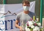 Podžus Ēģiptē uzvar pirmos divus numurus un iegūst septīto ITF titulu