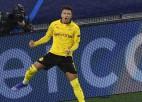 """Dortmundes """"Borussia"""" izrauj pirmo uzvaru, novājinātajam """"Lazio"""" neizšķirts"""