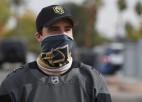 """NHL lielākā saslimšana kopš marta - """"Golden Knights"""" pozitīvas analīzes četriem hokejistiem"""