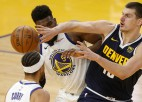 """Porziņģa """"Mavericks"""" pieveic """"Bucks"""", Jokičam 26+10+5 pret """"Warriors"""""""