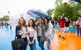 Foto: Liepājā svinīgi atklāts Kristapa Porziņģa laukums