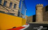 Foto: Neparastā Baku trase gaida F1 čempionātu