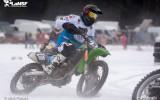 Foto: LČ skijoringā un ziemas motokrosā 3.posms Ādažos