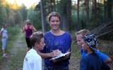 Foto: Noskaidroti rudens Kalna skrējiena uzvarētāji
