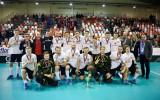 """Foto: """"Valmiera"""" nenotur pārsvaru un """"EuroFlorball Cup"""" ierindojas 2. vietā"""