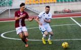 """Foto: """"Dinamo Ogre"""" pārspēj komandu """"Techniba"""""""