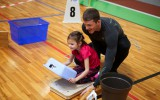 Foto: Ogrē notiek sporta spēles ģimenēm