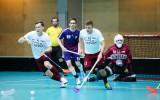 Foto: Kvalifikācijas turnīrs sākts ar Francijas izlases sagraušanu