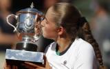 """Ostapenko: """"Vēlos izbaudīt katru maču un savu tenisistes karjeru"""""""