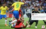 """Pasaules kausa """"Twitter"""" čalas: kāpēc Brazīlija netika pie pendeles?"""