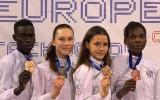 Māsām Tarvidām zelts un sudrabs Eiropas klubu čempionātā