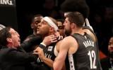 """Filadelfijas zvaigzne Embīds pēc """"76ers"""" un """"Nets"""" ķīviņa: """"Dadlijs nav nekas"""""""