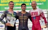 Ķiksim godalga UCI 1. kategorijas elites treka sacensībās Itālijā