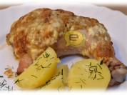 Fotorecepte: cepta vista ar ķiplokiem un majonēzi