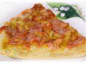 Fotorecepte: rabarberu plātsmaize bez miltiem
