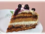 """Fotorecepte: kūka ar """"gotiņas"""" garšu"""