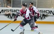 Latvijas <i>inline</i> hokeja izlase 1/4finālā zaudē Argentīnai