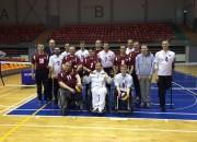 Latvijas sēdvolejbola izlase saglabā pirmo vietu Baltijas līgā