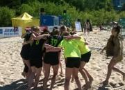 """""""Celtnieks"""" un """"Salaspils"""" triumfē pludmales handbola 1. posmā"""
