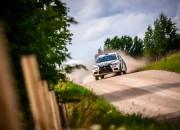 Latviešu ASRT komandas piloti Igaunijas ERČ rallijā starp ātrākajiem Eiropas braucējiem