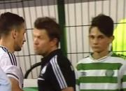 """Rumānijas klubs kaitina poļu """"Legia"""" ar bumbu padevējiem """"Celtic"""" formās"""
