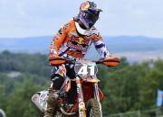 Jonasam otrā vieta Čehijas MX2 posmā, Herlingsam sezona galā