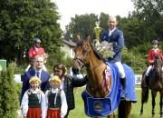Rīgā aizvadīta pirmā sacensību diena Pasaules kausa posmā jāšanas sportā