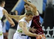 Potenciālā Latvijas <i>play-off</i> pretiniece Slovēnija nosauc sastāvu